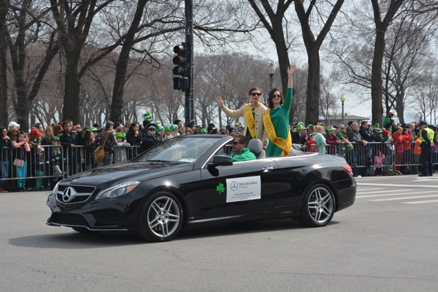 st. patrick's parade court queens - guide to st. patrick's day in chicago