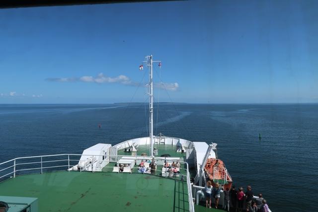 on board the northumberland ferry from nova scotia to PEI - Where to Eat the Best Lobster Rolls in Prince Edward Island?