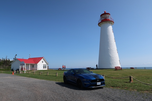 the point prim lighthouse in prince edward island