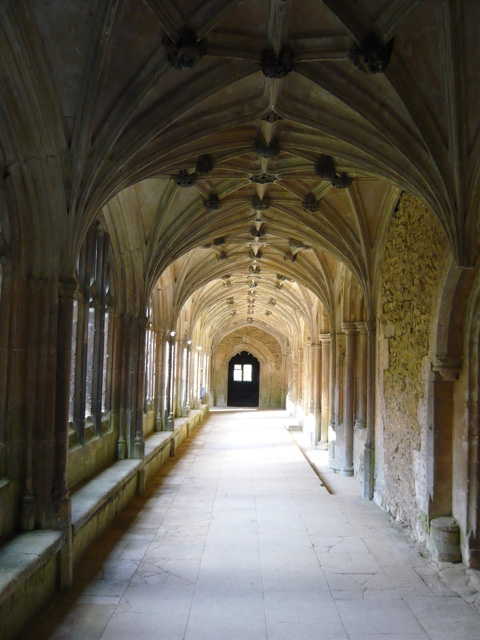 Lacock Abbey Wiltshire England Harry Potter filming location