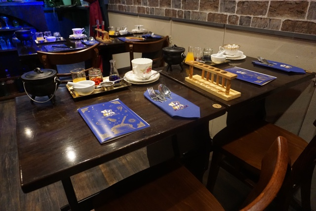 cutter and squidge afternoon tea in the potion room london - best harry potter experiences