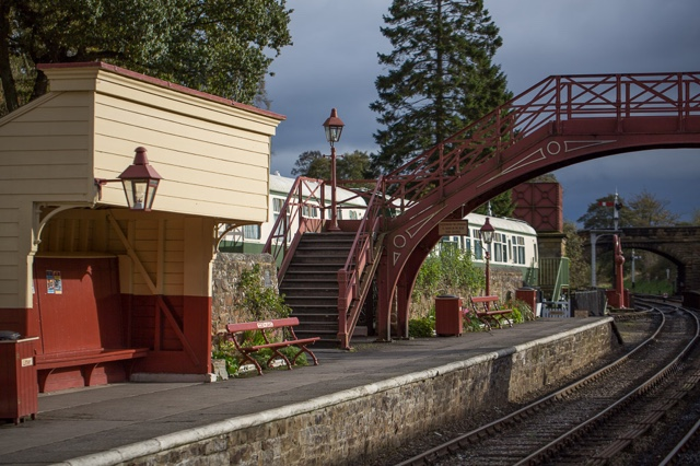 goathland railway station as the hogsmeade train station in harry potter