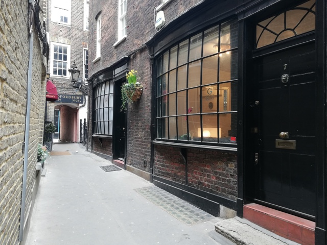 goodwins court london inspiration for knockturn alley in Harry potter