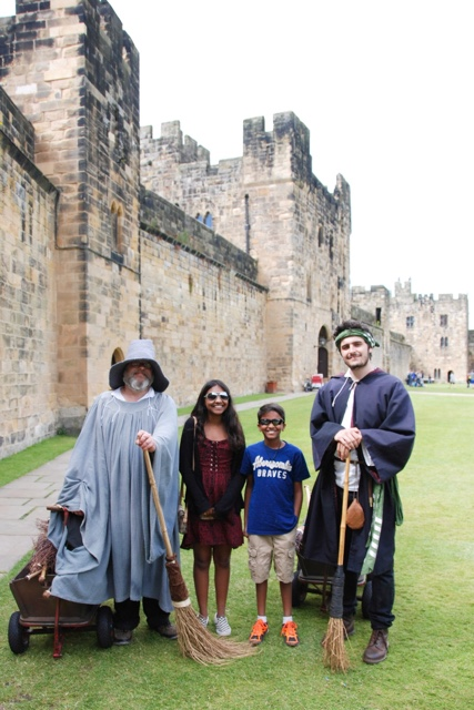 harry potter broomstick flying lessons at Alnwick castle - Best Guide to Harry Potter Experiences Around the World