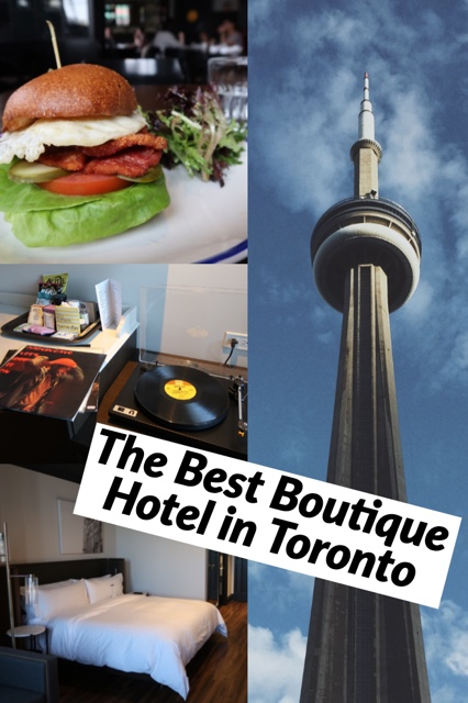 the best boutique hotel in Toronto