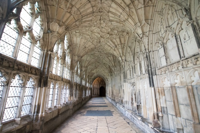 Gloucester Cathedral cloisters england Harry Potter