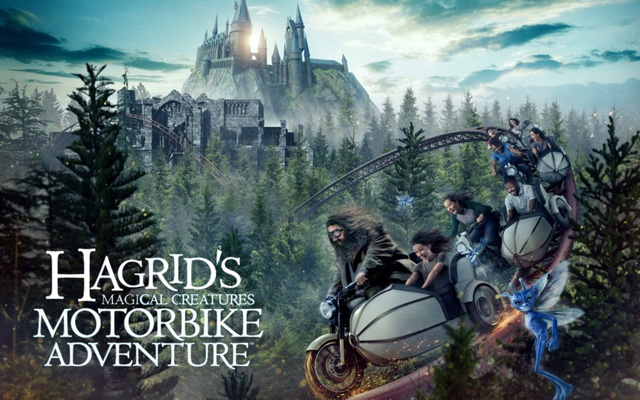 Hagrids Magical Creatures Motorbike Adventure at Islands of Adventure