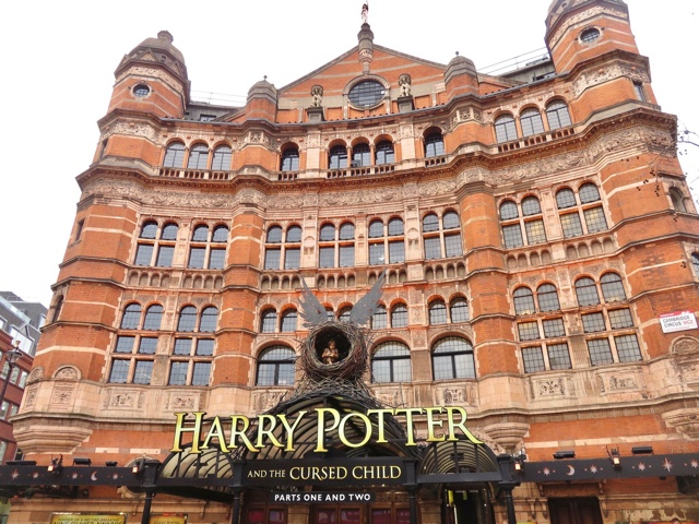 Harry Potter and the cursed child play in London