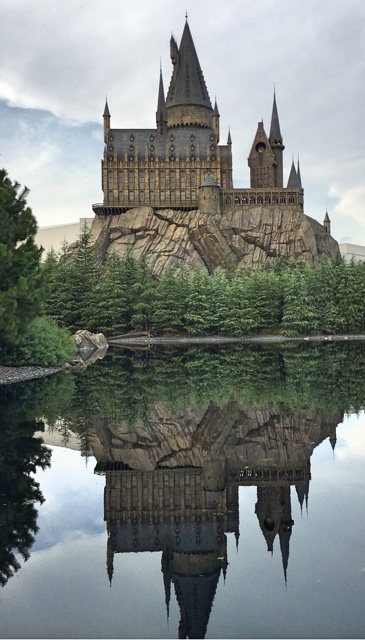 Hogwarts Black Lake Harry Potter Universal Studios Osaka Japan