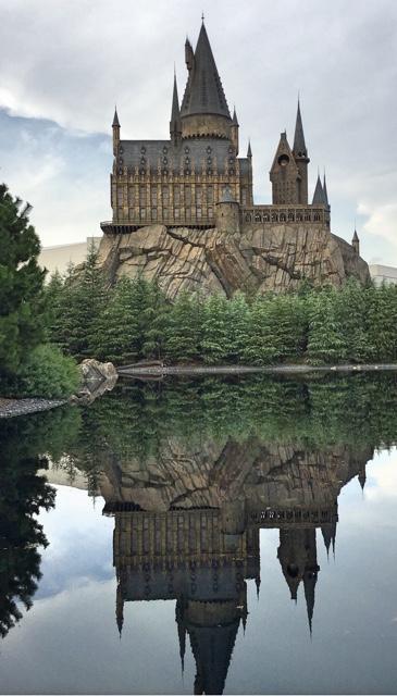 Hogwarts Black Lake Harry Potter Universal Studios Osaka Japan