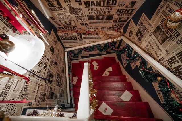 House of MinaLima in London soho graphic designers for harry potter