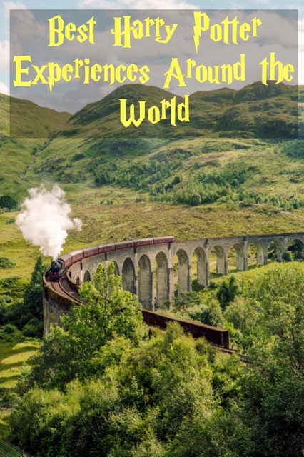 the best harry potter experiences around the world pin