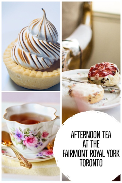 afternoon tea at the fairmont royal york hotel toronto pin