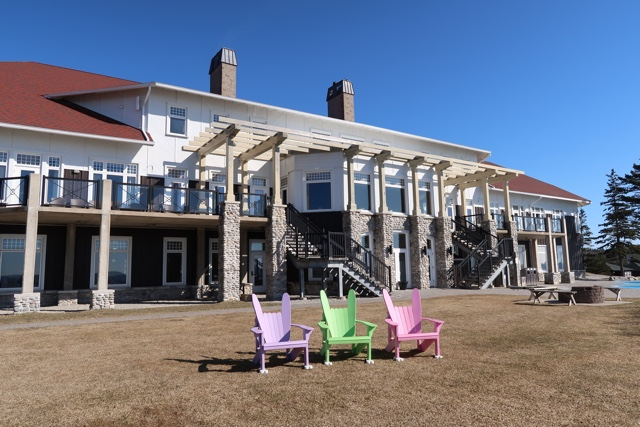 the main lodge at the white point beach resort - Why the White Point Beach Resort is the perfect place for a girls trip!