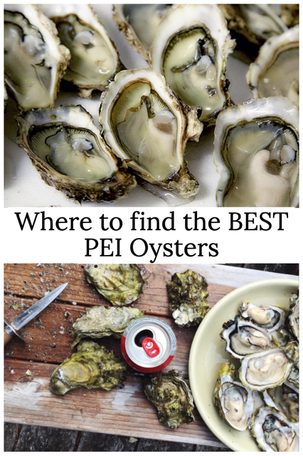 Where to find the best pei oysters