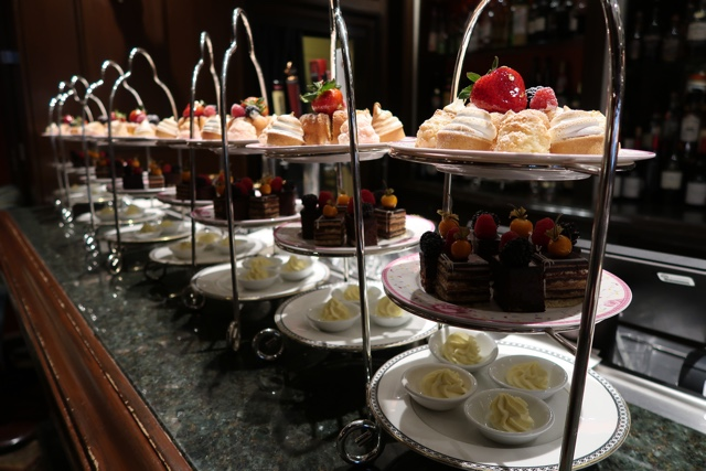 afternoon tea sandwiches scones and desserts at the fairmont royal york