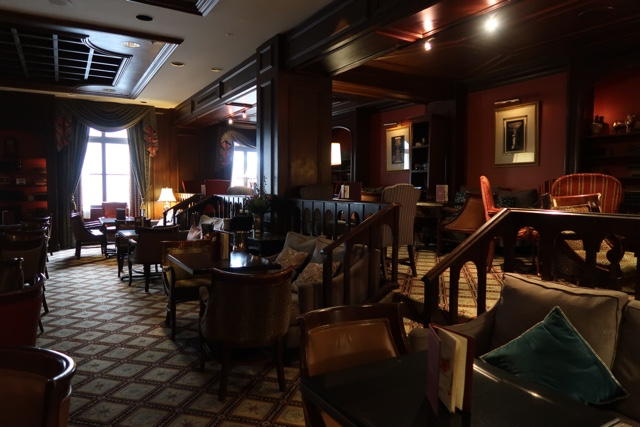 the library bar at the fairmont royal york hotel in toronto