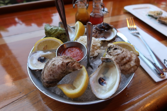 unique oysters at the merchantman restaurant in charlottetown