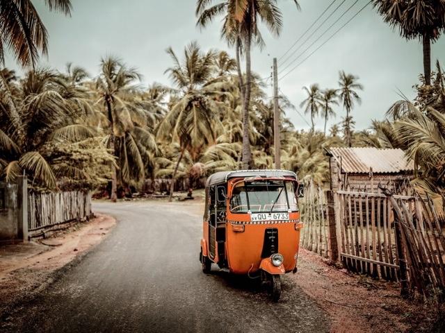ride a tuktuk in colombo sri lanka