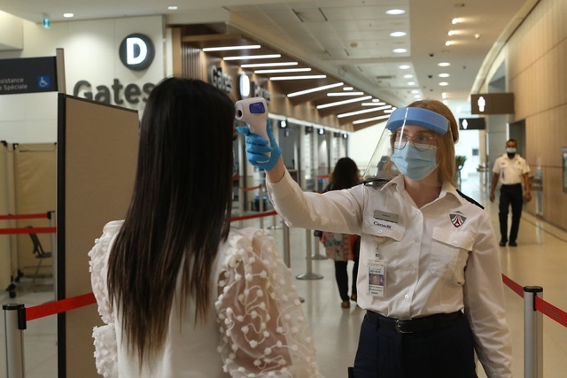 catsa airport temperature screening